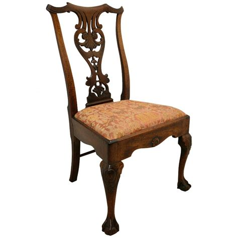 Antique Chair With Carved by Antique George Ii Carved Walnut Chair Antiques Co Uk