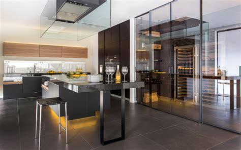 showroom cuisine design minimaliste allemand et italien