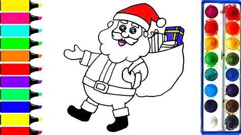 what color is santa claus santa claus coloring pages colors for draw