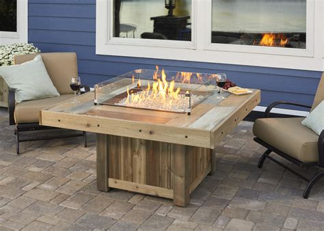 vintage pit table from wissota outdoor living