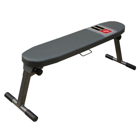 folding flat bench bodyworx foldable flat bench