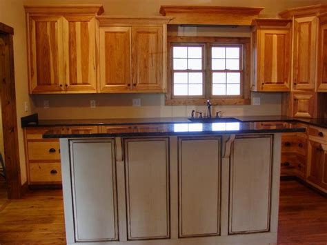 unstained kitchen cabinets hickory cabinets photos