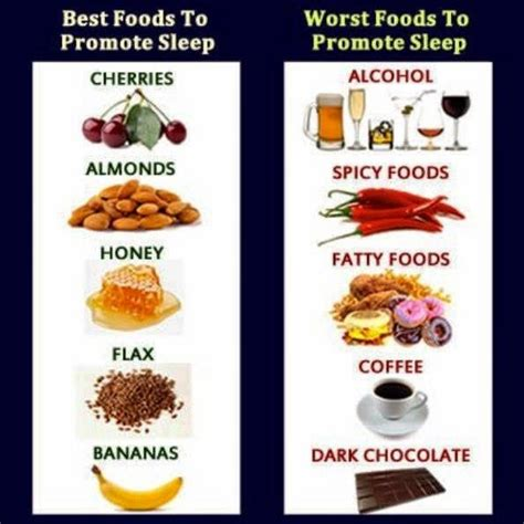 best food to eat before bed health nutrition tips best and worst foods to promote sleep