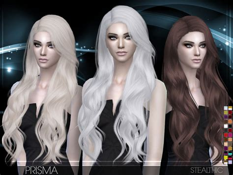 vanity female hair by stealthic at tsr sims 4 updates stealthic 187 sims 4 updates 187 best ts4 cc downloads