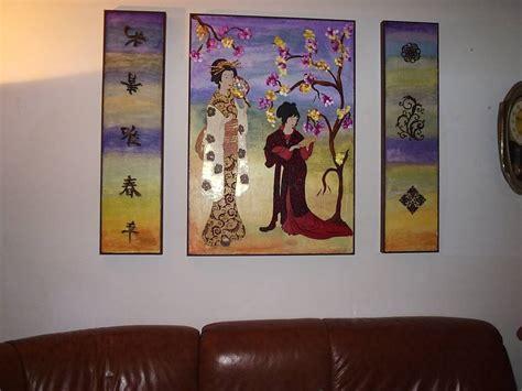 cuadros de japonesas cuadro japones manangi manangi artelista