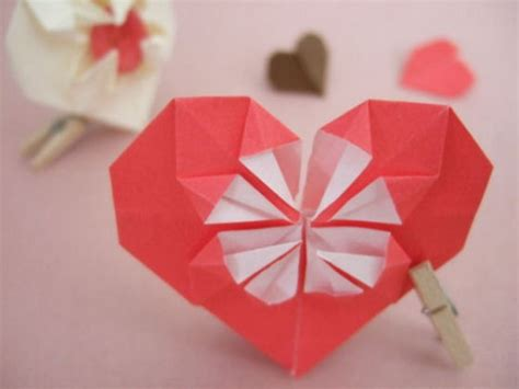 Origami 3d Hearts - 35 exciting origami artworks tutorialchip