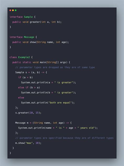 java lambda expressions  lambda expression  java