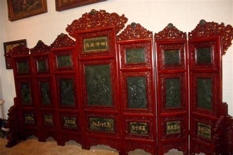 Panel Seven seven panel jade screen