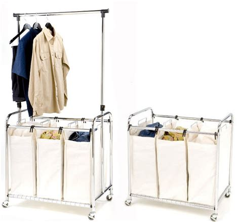 Commercial Laundry Hers Laundry Sorters And Hers Household Essentials Laundry Sorter With 3 Removable Bags Target