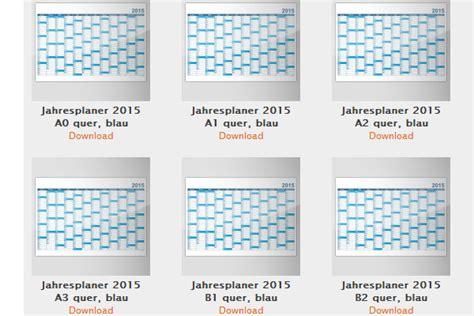 Design Vorlagen Kalender News Kalender Vorlagen F 252 R 2015 Zum Kostenlosen