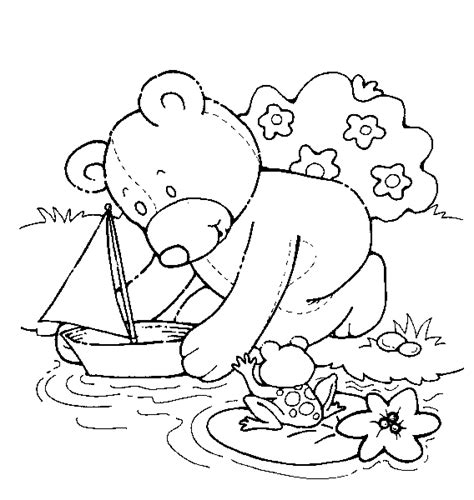 tatty teddy free colouring pages