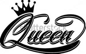 queen hand schriftzug stock vektorgrafik vectorhq com