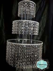 chandelier cake stand wedding cake stand 5 tier by cakedress on etsy