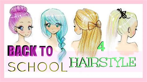 Drawing 4 Fall Hairstyles by How Fall Hairstyles Drawing To Draw Hair Part U