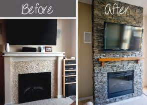 fireplace diy hirondelle rustique diy stacked fireplace