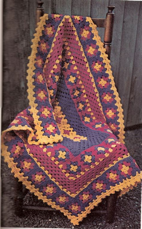 Free Pattern Granny Square Afghan   smoothfox s beginner s round ripple ripple afghan
