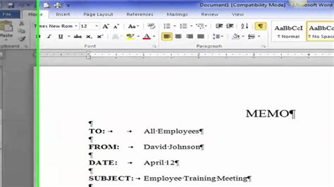 layout in word processing sle resume how to format a business memo resume daily