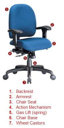 Desk Chair Repair Parts by Parts Of A Chair Office Chair Chair Repair Chair