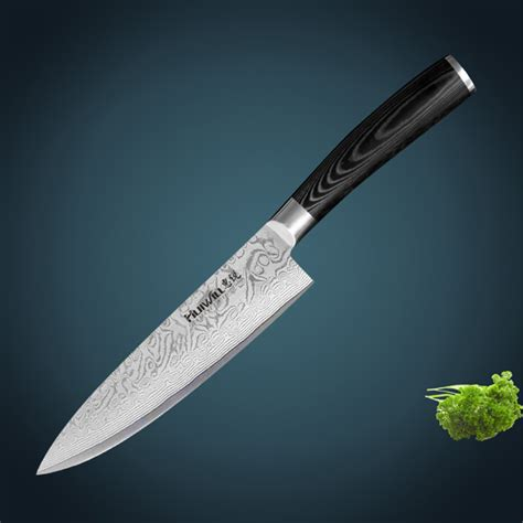 forged japanese kitchen knives 8 quot japanese vg10 damascus steel kitchen chef knife with