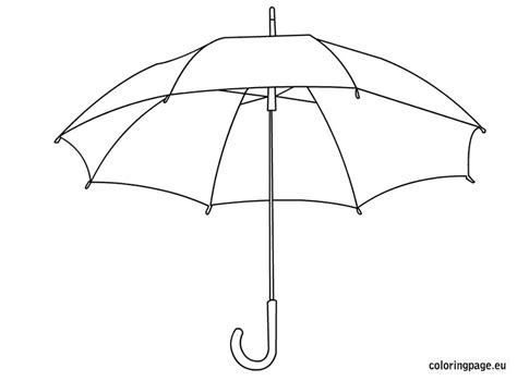 coloring pages with umbrellas umbrella coloring pages for kids autumn pinterest