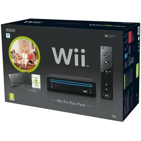 nintendo wii console bundle with wii fit plus wii