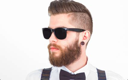 you can now decorate your hipster beard for christmas man sticking with hipster look because he passionately