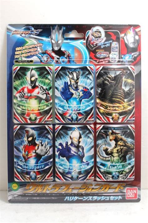 ultraman orb ultra fusion card set hurricane slash set