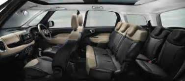 Fiat 500 Mpv 7 Seater Car Picker Fiat 500l Mpw Interior Images