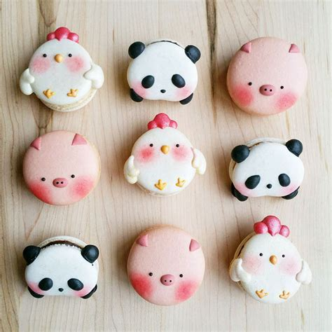 cute macaron pattern panda macarons are a thing and they re too cute to eat