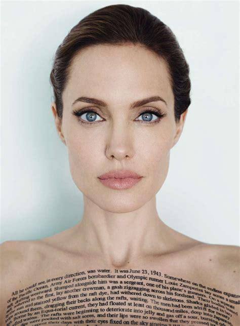 angelina jolie new tattoo vanity fair angelina jolie vanity fair magazine december 2014 issue