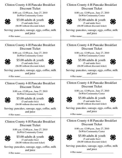 best photos of printables prayer breakfasts programs