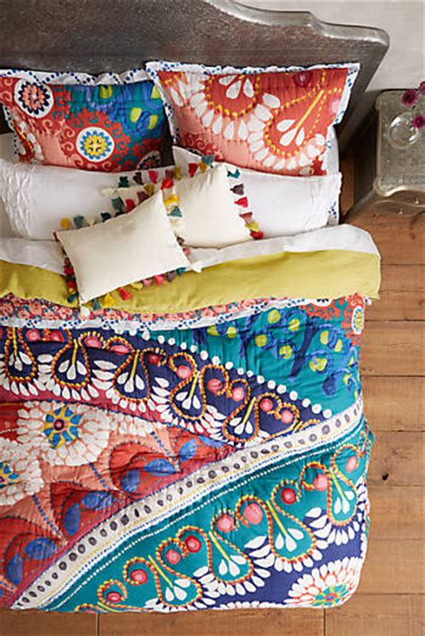 Unique Quilts And Coverlets Shop Unique Quilts Bedding Coverlets Anthropologie