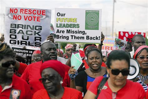 nigerian schoolgirls kidnapped by boko haram protests but pace international law review blog 187 blog archive