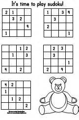 making learning fun 4x4 sudoku directory
