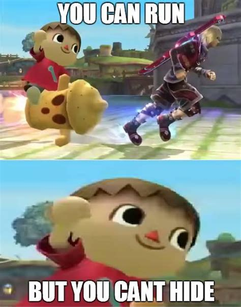 Villager Meme - none shall escape the villager super smash brothers