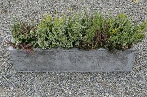 beton blumenkasten blumenk 252 bel aus beton 25 spektakul 228 re dekoideen f 252 r die