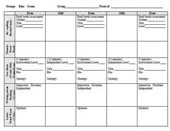 lesson plan template for reading intervention lli lesson plan templates even days lesson plan