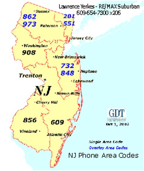 us area code new jersey new jersey fast facts yerkes re max suburban