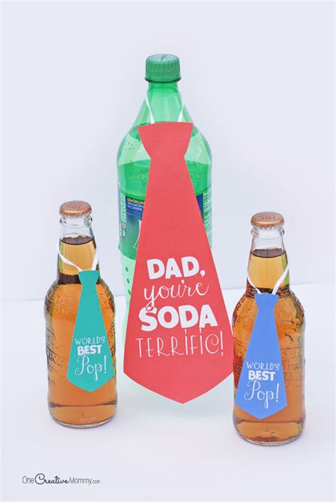 Fathers Day Gift Ideas For The Pop Culture by Easy S Day Gift Idea Soda Pop Neckties