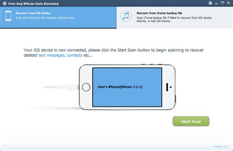 reset software center free any iphone data recovery