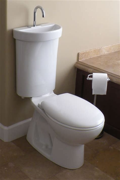 Toilet With Sink On Tank Space Saving Toilet The Tiny