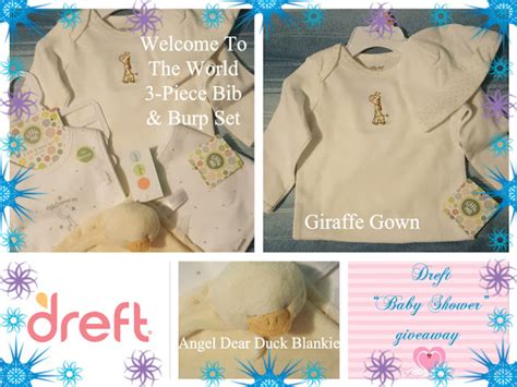 Baby Shower Giveaway - dreft baby shower giveaway