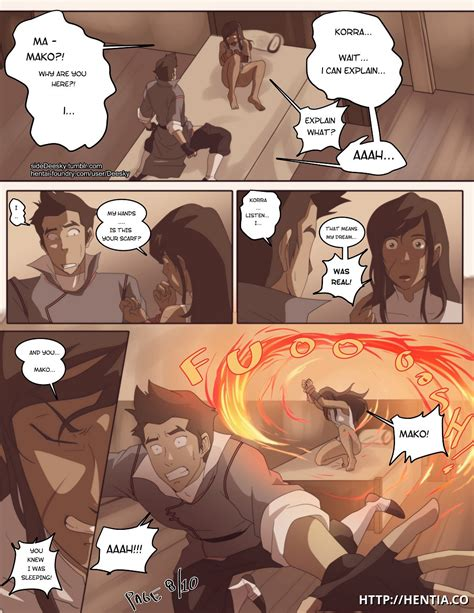 Dreaming This Probably The Most Real Dreaming Of Sex With Mako That Korra Ever Had