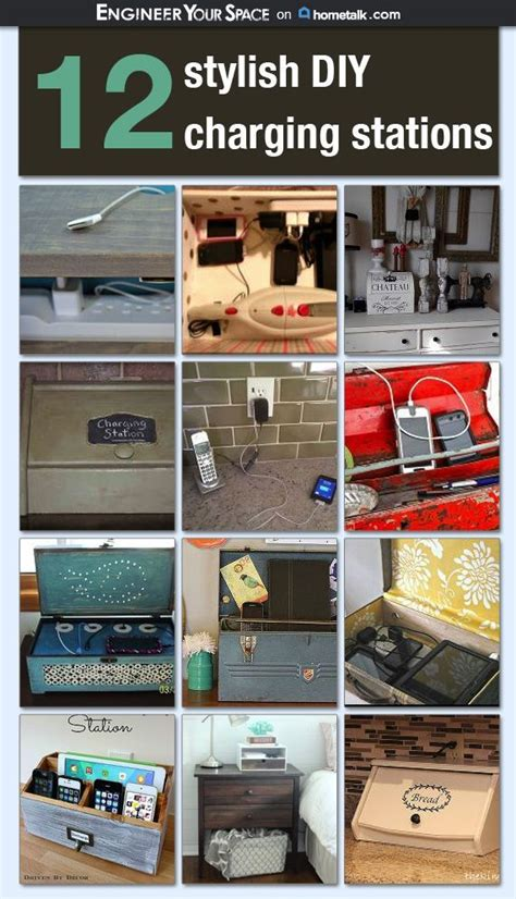 diy charging stations 12 stylish diy charging stations idea box by engineer your