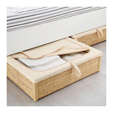 ikea bed storage r 214 mskog bed storage box rattan 65x70 cm ikea