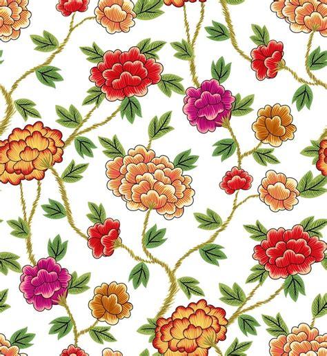 korea traditional pattern flowers white korean style 한국 패턴 및 꽃