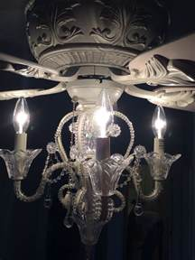 princess chandelier ceiling fan best 25 ceiling fan with chandelier ideas on