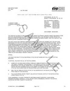 Edd Appeal Letter best photos of edd appeal letter sle commendation employee letter sle workers