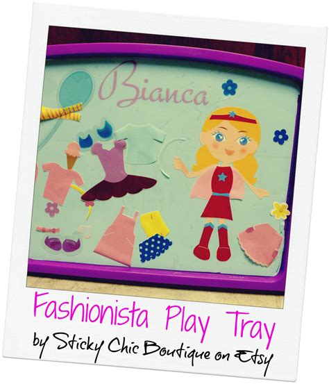 Colorforms For Fashionistas by Commonplace Giveaway Play Tray For Your One