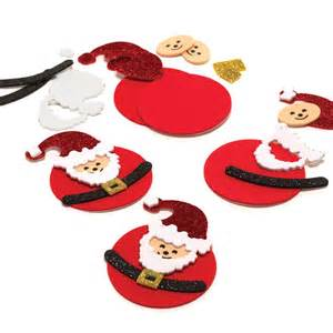Easy Holiday Crafts For Adults - father christmas decoration kit make your own santa